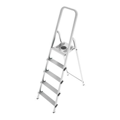Scaletta COLOMBO Stark in alluminio/acciaio 5 gradini