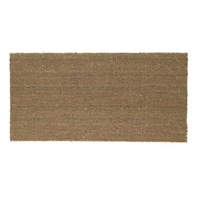Zerbino Greggio in cocco beige 60x120 cm