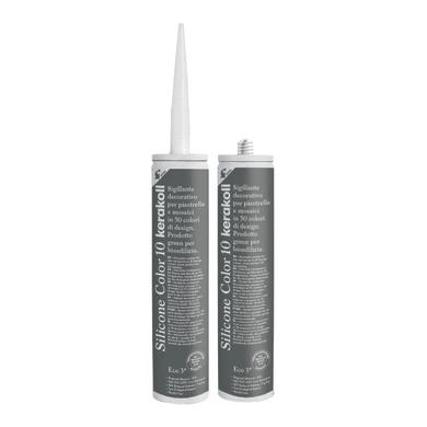 Giunto silicone Fugabella Eco 10 grigio / argento