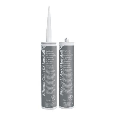 Giunto silicone Fugabella Eco 08 grigio / argento