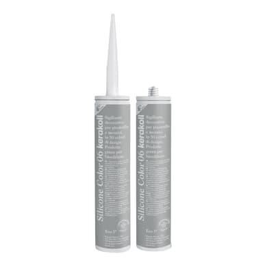 Giunto silicone Fugabella Eco 06 grigio / argento