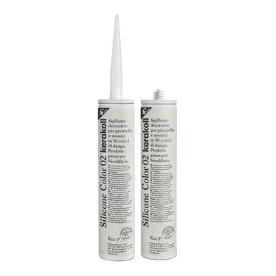 Giunto di dilatazione Fugabella Eco 02 bianco