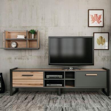 Mobile per TV Leno L 184 x H 32 x P 39 cm