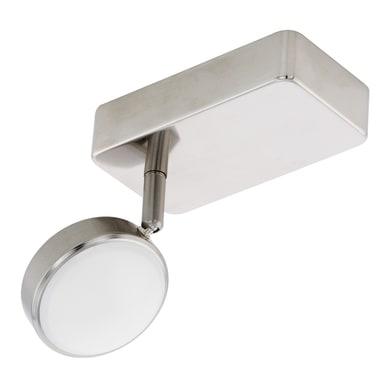 Faretto singolo Corropoli finitura nickel satinato, in metallo, LED integrato 5W 600LmLM IP20 EGLO