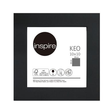 Cornice INSPIRE Keo nero per foto da 10x10 cm