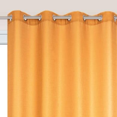 Tenda TENDA LAZARO giallo-oro anelli 140 x 280 cm