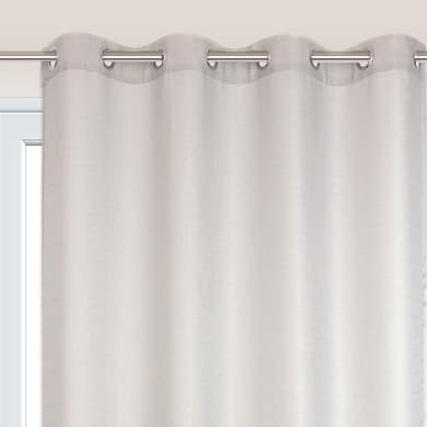 Tenda TENDA LAZARO grigio-oro anelli 140 x 280 cm