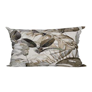 Cuscino Anniversary grigio e marrone 30x60 cm