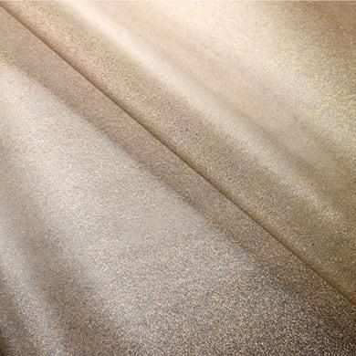 Tovaglia plastificata cristallo glitterato oro 140 cm
