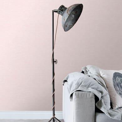 Carta da parati Effetto tessile rosa