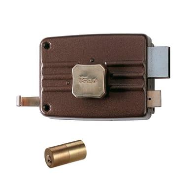 Serratura a incasso cilindro per portoncino d'ingresso, entrata 5 cm, interasse 50 mm destra