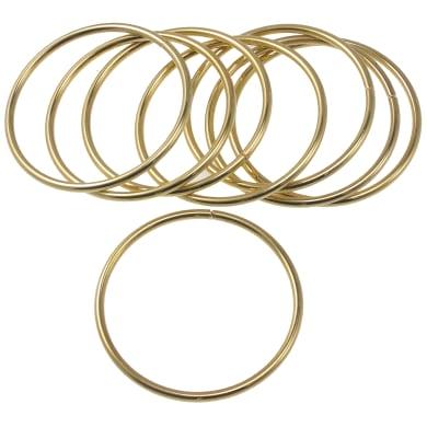 Anello in metallo oro