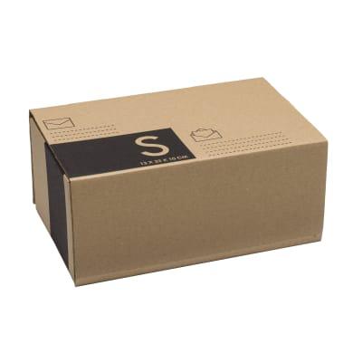 Scatola di cartone per spedire 1 onda L 10 x H 23 x P 13 cm