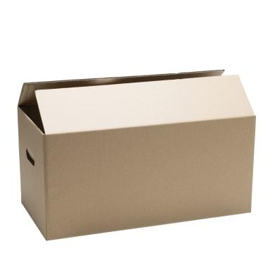 Scatola di cartone per imballare 2 onde L 80 x H 40 x P 40 cm