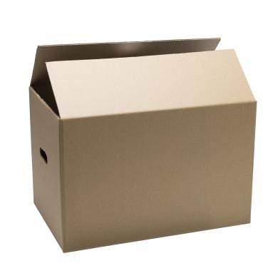 Scatola di cartone per imballare 2 onde L 60 x H 30 x P 30 cm