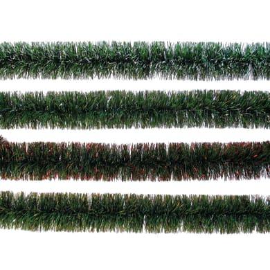 Ghirlanda natalizia verde L 200 cm , Ø 10 cm