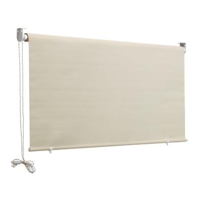 Tenda da sole a caduta con rullo 1.5 x 2.5 m beige