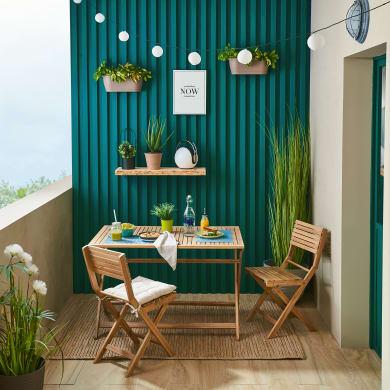 Casaria Set Tavolo e sedie da Giardino Alluminio Bern 5 pz Schienale 7 Posizioni mobili Esterno Balcone terrazza Patio