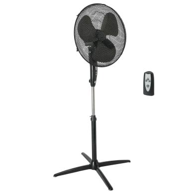Ventilatore da appoggio EQUATION nero 45 W Ø 40 cm
