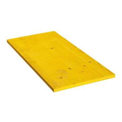 Pannello giallo 50 x 2.7 x 100 cm