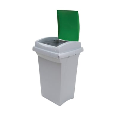 Pattumiera Recycling  manuale verde 50 L