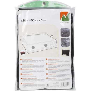 Copertura protettiva per barbecue in poliestere NATERIAL L 53 x P 27 x H 27 cm