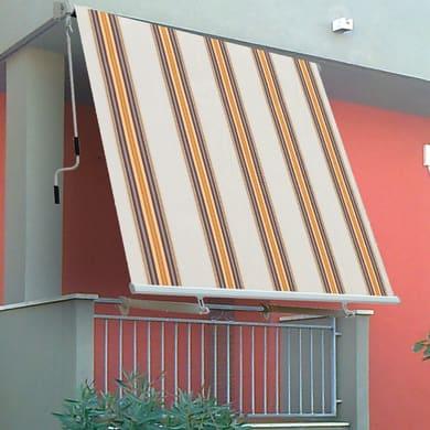 Tenda da sole a caduta con bracci L 3 x H 2.45 m  beige