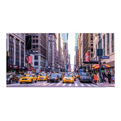 Quadro su tela New York taxy 140x70 cm