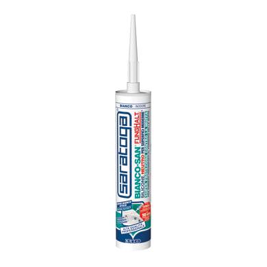 Silicone SARATOGA Biancosan neutro super bianco ottico 310 ml