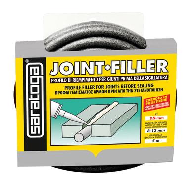 Accessorio per ancorante chimico SARATOGA Joint filler mm 15 x 5 m in gomma sintetica grigio 15 ml