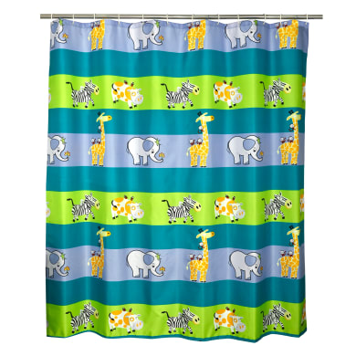 Tenda doccia Children in poliestere multicolore L 180 x H 200 cm
