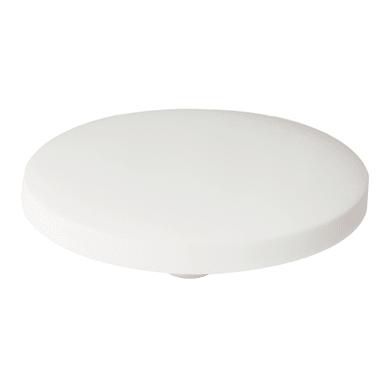 Pomolo in zinco bianco Ø 62 mm