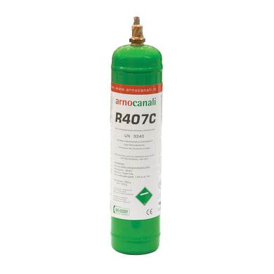 Bombola gas refrigerante climatizzatore R407C 1 L 0.85 kg