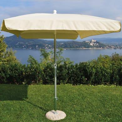 Ombrellone NATERIAL Ita 003 L 2.15 x P 2.15 m color ecru