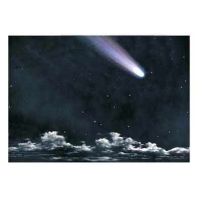 Carta sfondo notturno con cometa