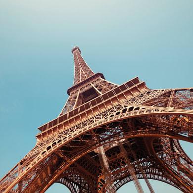 Sticker Tour Eiffel 19x19 cm