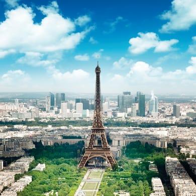 Sticker Tour Eiffel 28.5x28.5 cm