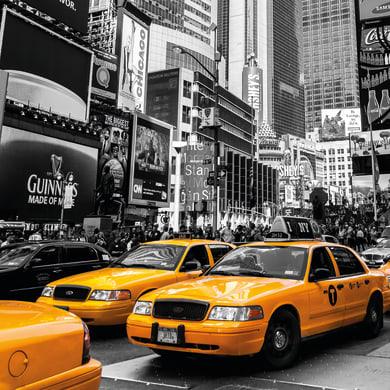 Sticker Taxi 28.5x28.5 cm