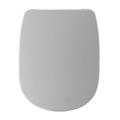 Copriwater rettangolare Dedicato per serie sanitari 500 termoindurente bianco