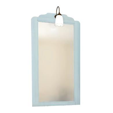 Specchio con faretto bagno rettangolare Lem7051/43