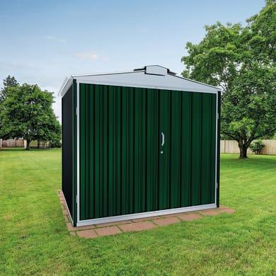 Garage in acciaio al carbonio Orlando SAPIL 12.32 m², Sp 0.6 mm