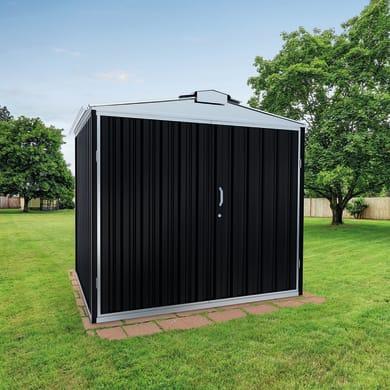 Garage in acciaio al carbonio Orlando SAPIL 10.62 m², Sp 0.6 mm