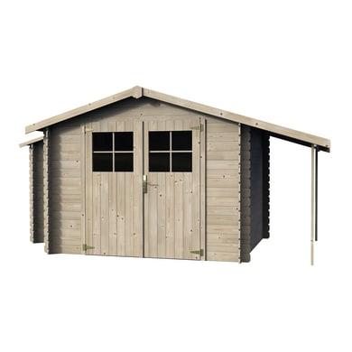 Casetta da giardino in legno Casetta Talcy,  superficie interna 5.03 m² e spessore parete 19 mm