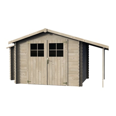 Casetta da giardino in legno Casetta Talcy 5.03 m² spessore 19 mm