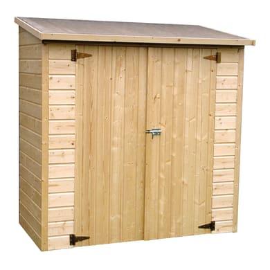 Casetta da giardino in legno Armadio Albecove,  superficie interna 1.34 m² e spessore parete 12 mm