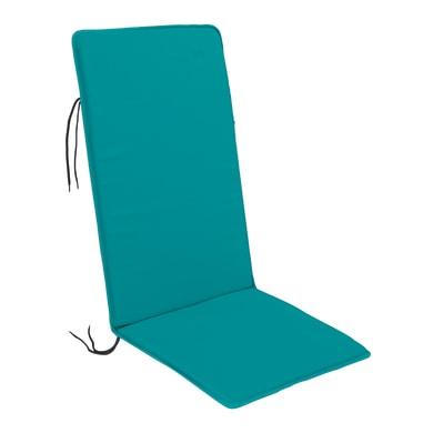 Cuscino per sedia Bigrey azzurro 50x3 cm