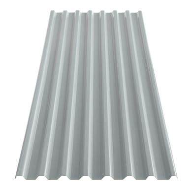 Lastra grecata TECNOIMAC in ecotres® 106 x 200 cm, Sp 1.8 mm grigio