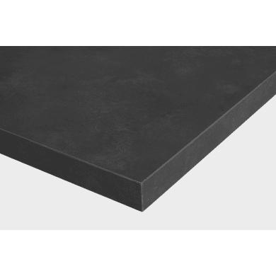 Piano di lavoro in laminato grigio L 304 x P 63 cm, spessore 3.8 cm