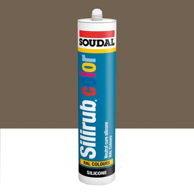 Silicone SOUDAL Multiuso Colorato RAL 7006 grigio beige 300 ml
