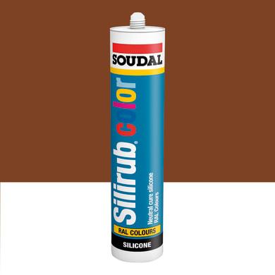 Silicone SOUDAL Multiuso Colorato RAL 8007 marrone capriolo 300 ml
